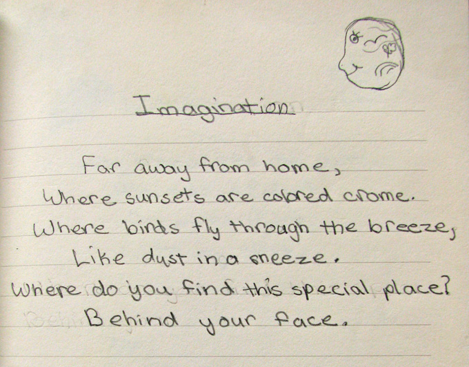 imagination poem