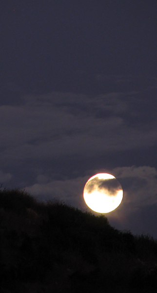 full moon, August 12th